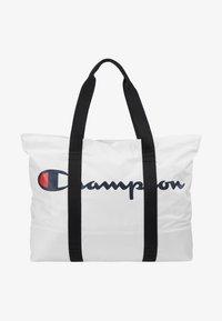Champion - LARGE SHOULDER BAG - Sports bag - white - 1