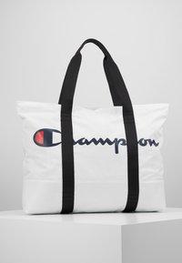 Champion - LARGE SHOULDER BAG - Sports bag - white - 0