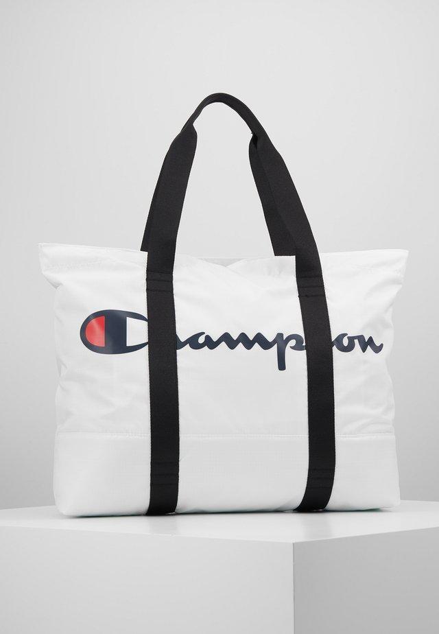 LARGE SHOULDER BAG - Treningsbag - white