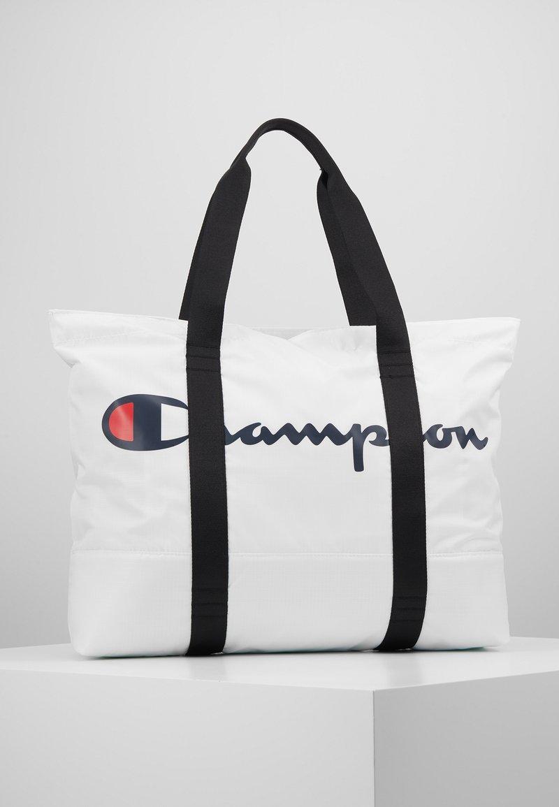 Champion - LARGE SHOULDER BAG - Sports bag - white
