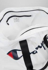 Champion - LARGE SHOULDER BAG - Sports bag - white - 5