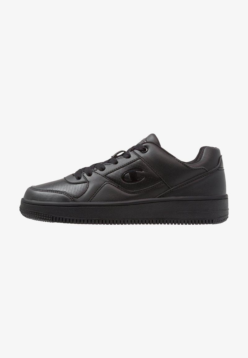 Champion - CUT SHOE REBOUND - Sneakersy niskie - black