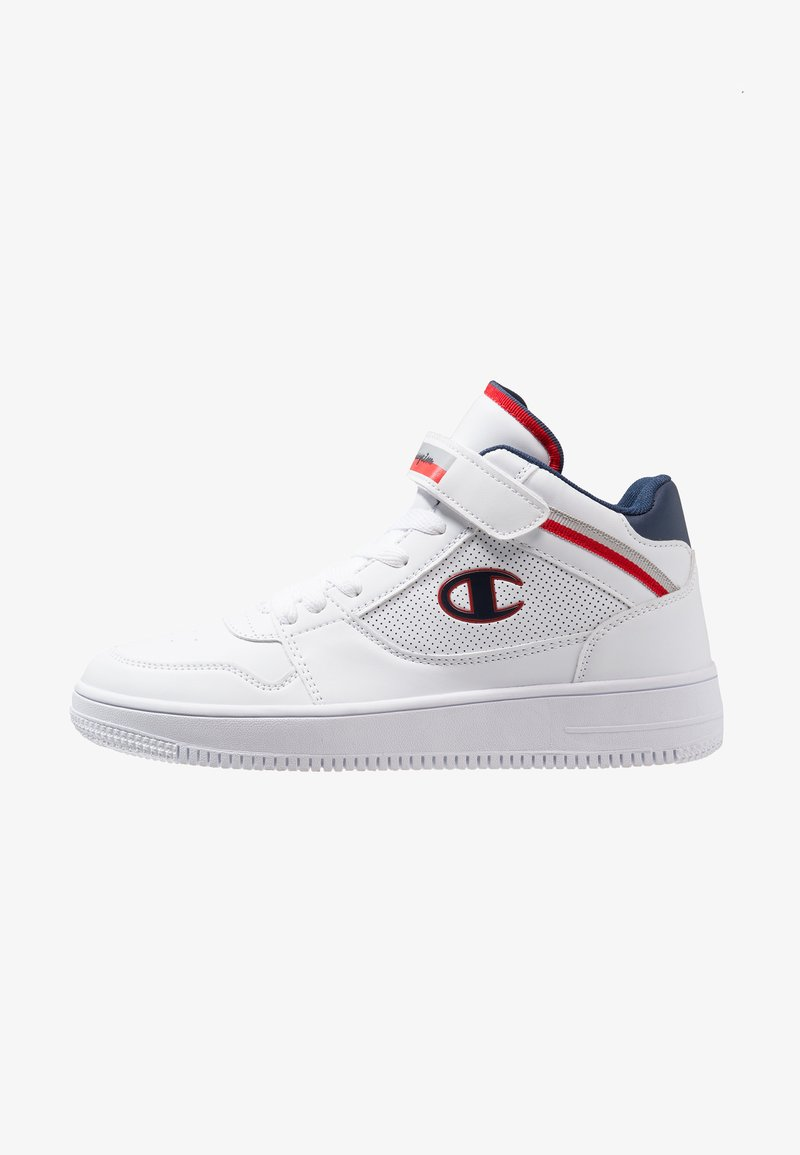 Champion - MID CUT SHOE REBOUND VINTAGE - Basketball shoes - white
