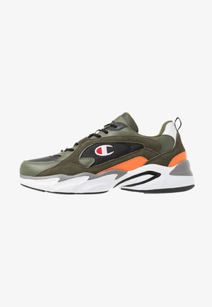 TAMPA - Zapatillas de entrenamiento - olive/orange