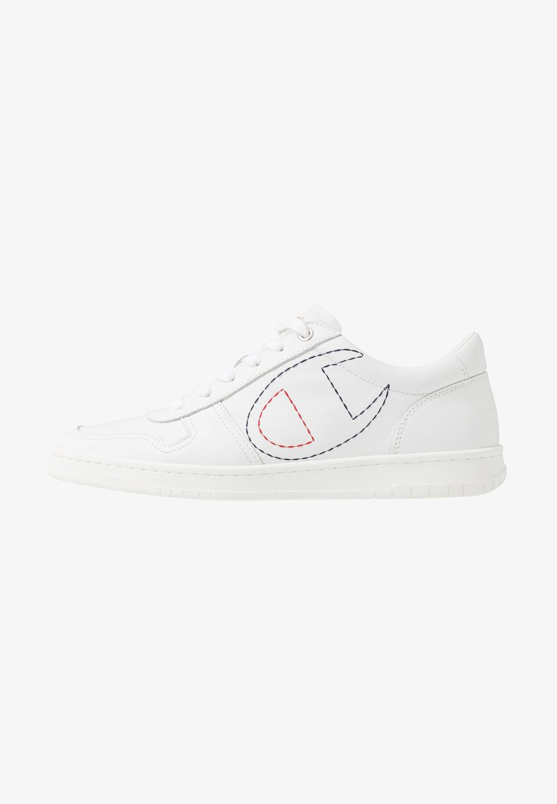 Champion - LOW CUT SHOE 919 LOW LEATHER - Sneakers - white