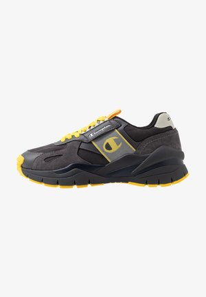LOW CUT SHOE HONOR WINTERIZED - Promenadskor - black/grey/blu/yellow