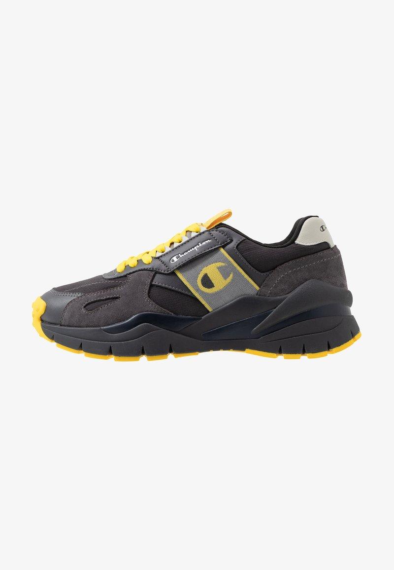 Champion - LOW CUT SHOE HONOR WINTERIZED - Løbesko walking - black/grey/blu/yellow