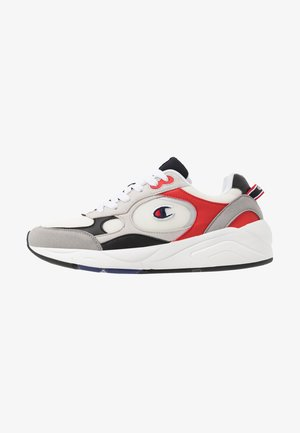 LOW CUT SHOE LEXINGTON - Kuntoilukengät - offwhite/grey/red