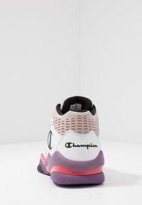 Champion - MID CUT SHOE ZONE MID 90'S - Koripallokengät - white/violet/fux/black - 3