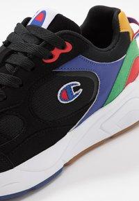 Champion - LEXINGTON - Sportovní boty - black/multicolor - 5