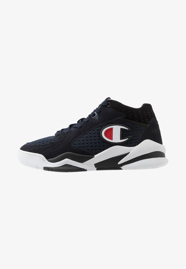 MID CUT SHOE ZONE - Basketballschuh - dark blue