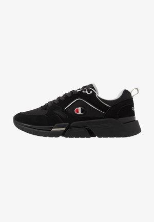 LOW CUT SHOE LANDER - Sneakersy niskie - black/grey