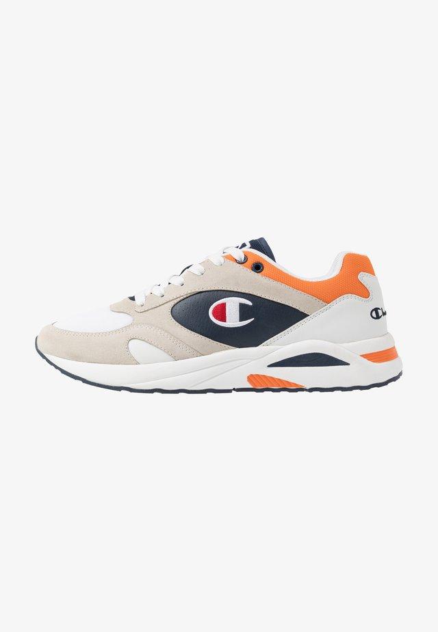 MID CUT SHOE NEW TORRANCE - Sports shoes - white/navy/orange