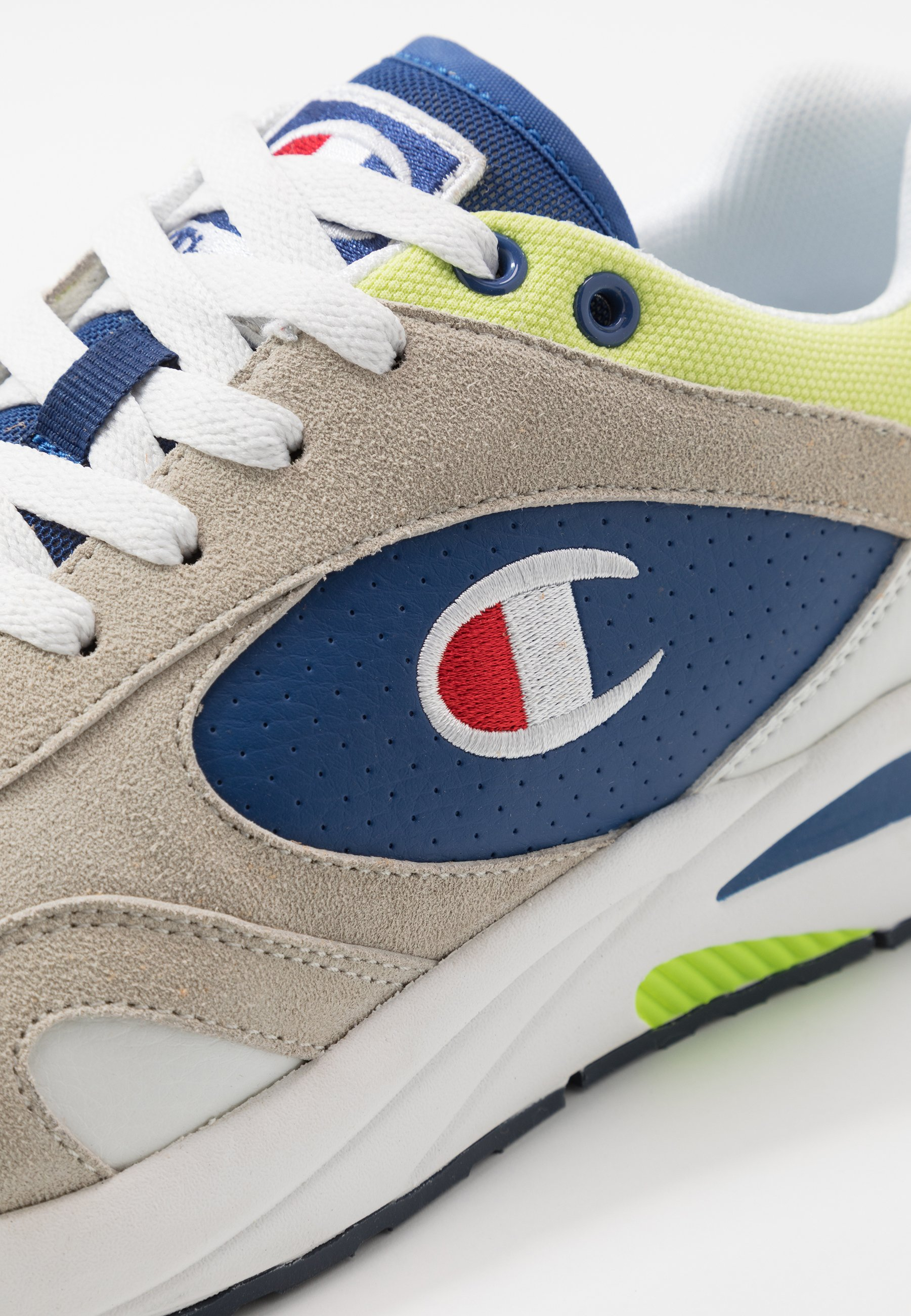 Champion MID CUT SHOE NEW TORRANCE - Chaussures d'entraînement et de fitness - white/royal/lime