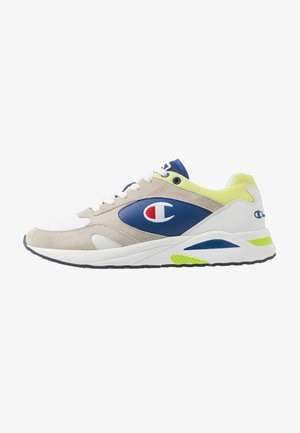 MID CUT SHOE NEW TORRANCE - Kuntoilukengät - white/royal/lime