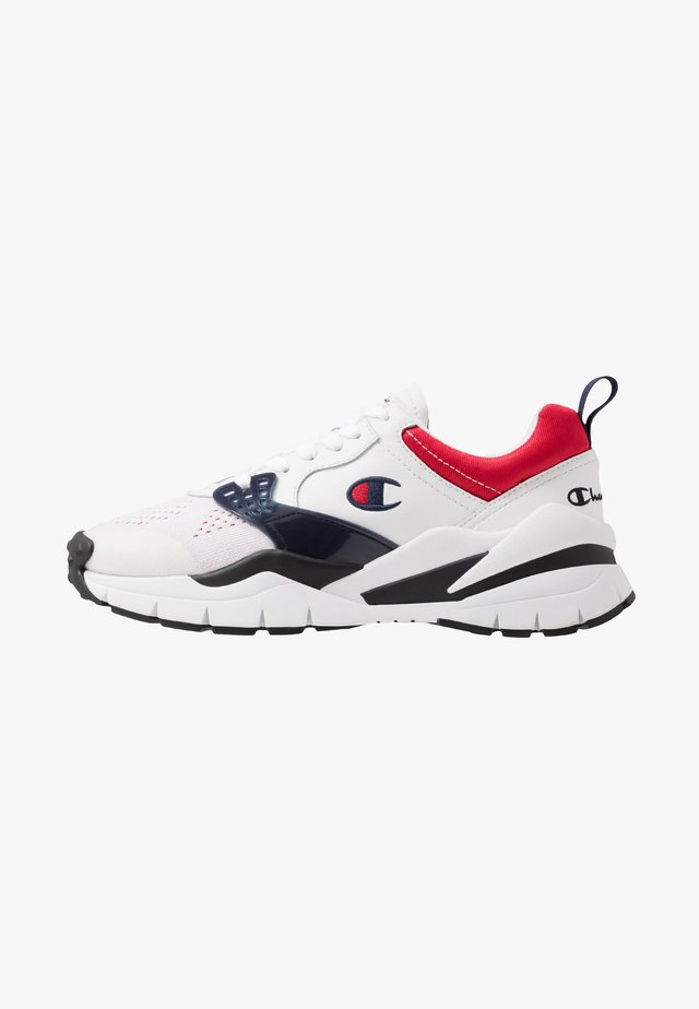 LOW CUT SHOE HONOR NEW - Sports shoes - white/red/new navy