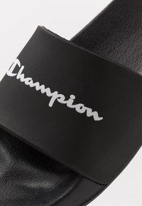 Champion - BELIZE - Sandali da bagno - black/white - 5