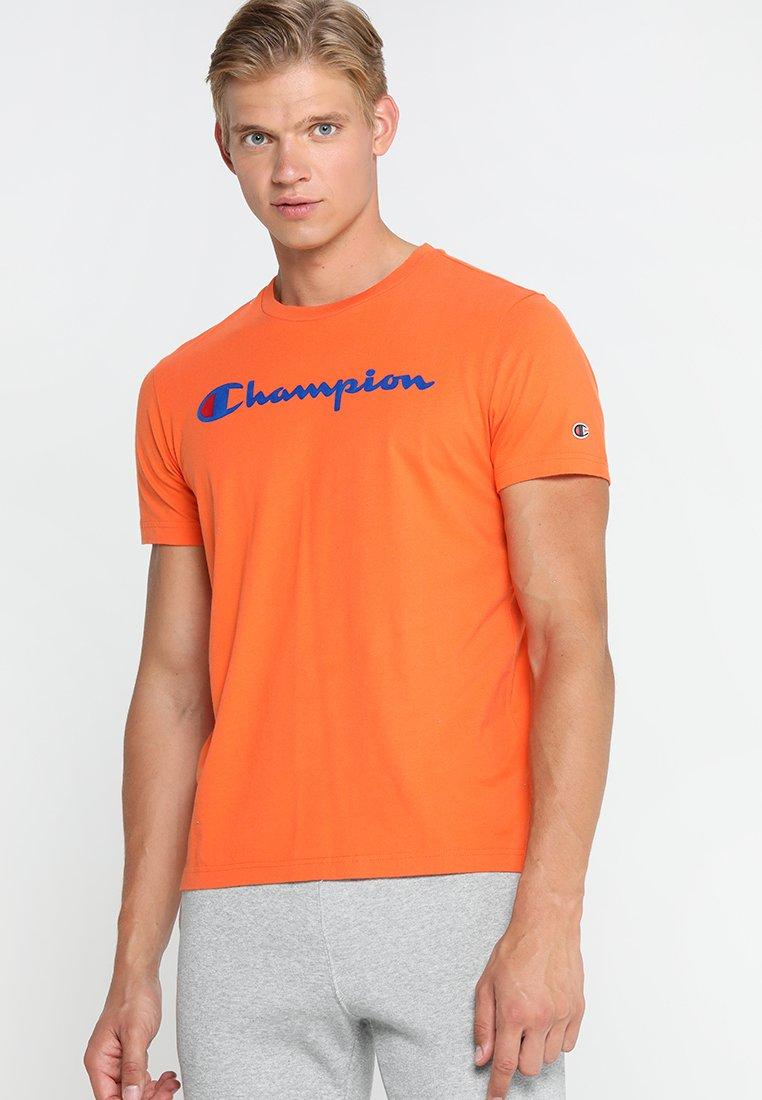 Champion - CREWNECK  - T-shirt print - orange