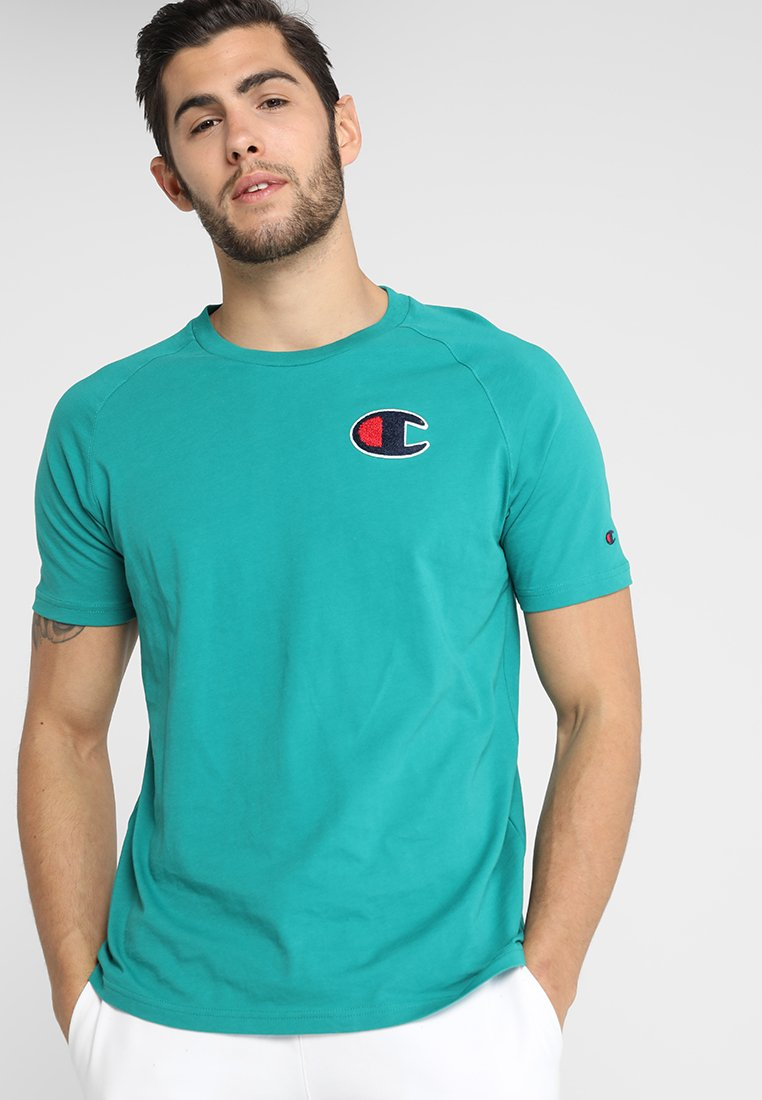 Champion - CREWNECK - T-shirt print - green