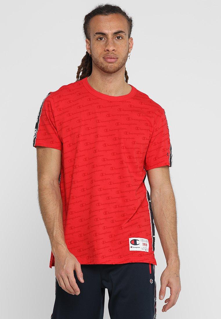 Champion - CREWNECK  - T-Shirt print - dark red