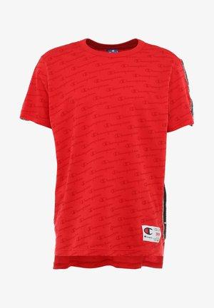 CREWNECK  - T-shirt z nadrukiem - dark red