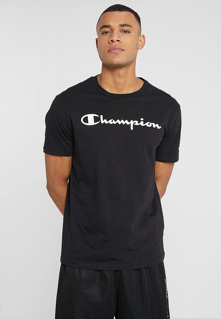 Champion - CREWNECK  - T-shirt print - black