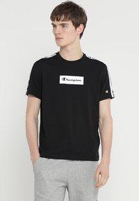 Champion - CREWNECK  - T-shirts print - black - 0