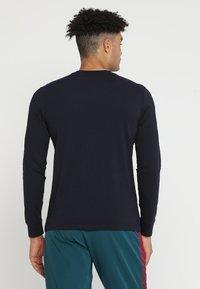 Champion - LONG SLEEVE  - Langærmede T-shirts - dark blue - 2