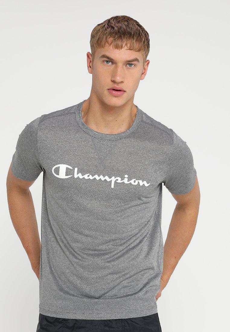 Champion - CREWNECK  - Print T-shirt - grey