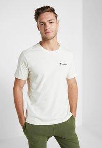 Champion - CREWNECK - Basic T-shirt - off white - 0