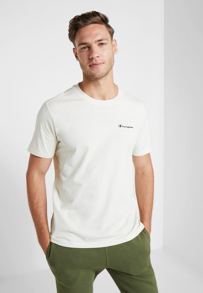 Champion - CREWNECK - Basic T-shirt - off white
