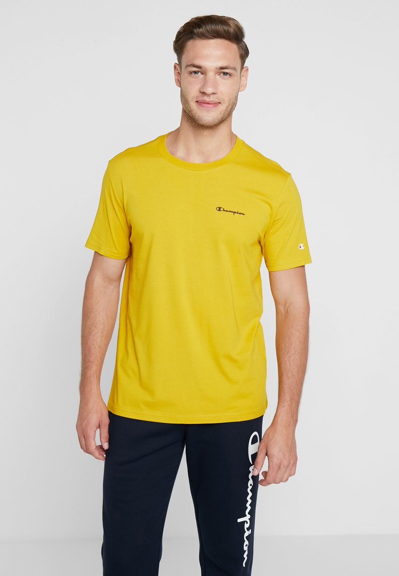 Champion - CREWNECK - Basic T-shirt - mustard yellow