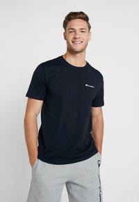 Champion - CREWNECK - T-shirt basique - dark blue - 0