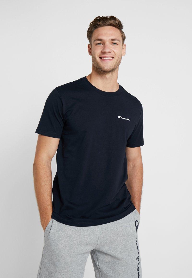 Champion - CREWNECK - T-shirt basique - dark blue
