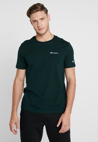 Champion - CREWNECK - Camiseta básica - dark green - 0