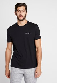 Champion - CREWNECK - T-shirt - bas - black - 0