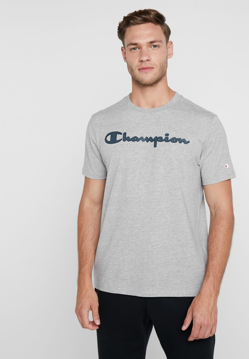 Champion - CREWNECK - T-shirt imprimé - grey