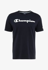 Champion - CREWNECK - Triko spotiskem - dark blue - 4