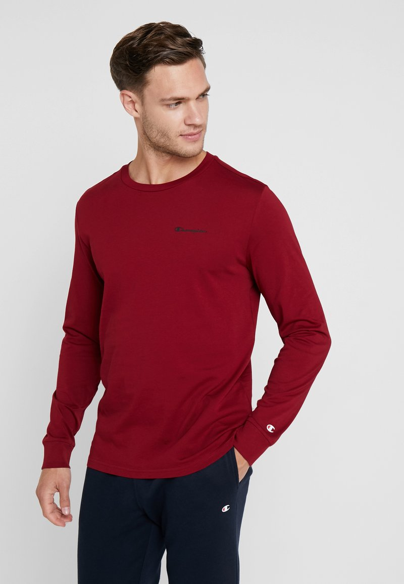 Champion - LONG SLEEVE CREWNECK - T-shirt à manches longues - red