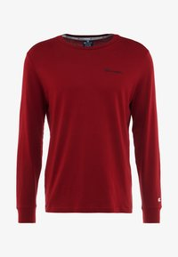 Champion - LONG SLEEVE CREWNECK - T-shirt à manches longues - red - 4
