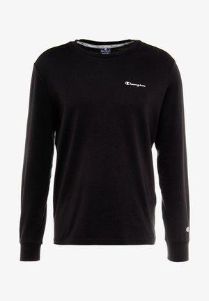LONG SLEEVE CREWNECK - Pitkähihainen paita - black