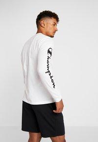 Champion - LONG SLEEVE - Maglietta a manica lunga - white - 2