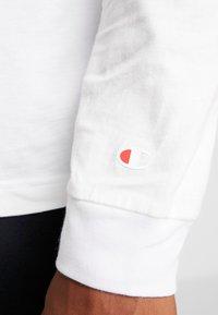 Champion - LONG SLEEVE - Maglietta a manica lunga - white - 5
