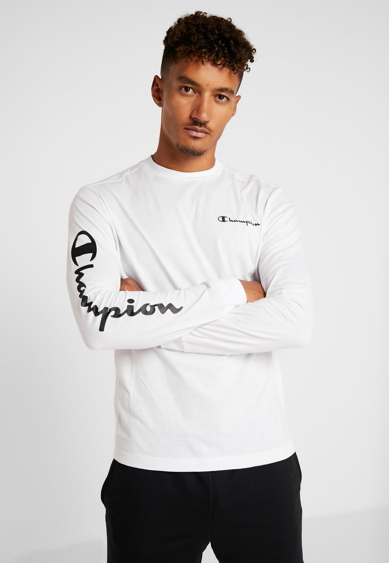 Champion - LONG SLEEVE - Top s dlouhým rukávem - white