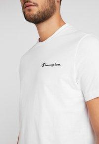Champion - CREWNECK  - Print T-shirt - white - 5