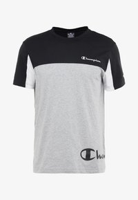 Champion - CREWNECK - Print T-shirt - oxi grey melange/black/white - 3