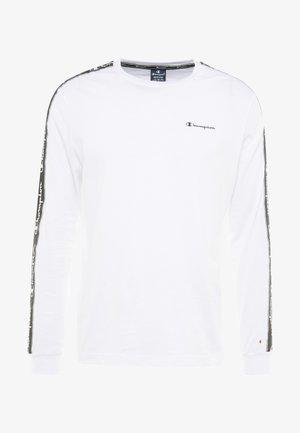 LONG SLEEVE CREWNECK  - Långärmad tröja - white