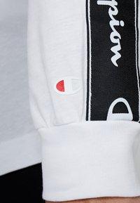 Champion - LONG SLEEVE CREWNECK  - Långärmad tröja - white - 5