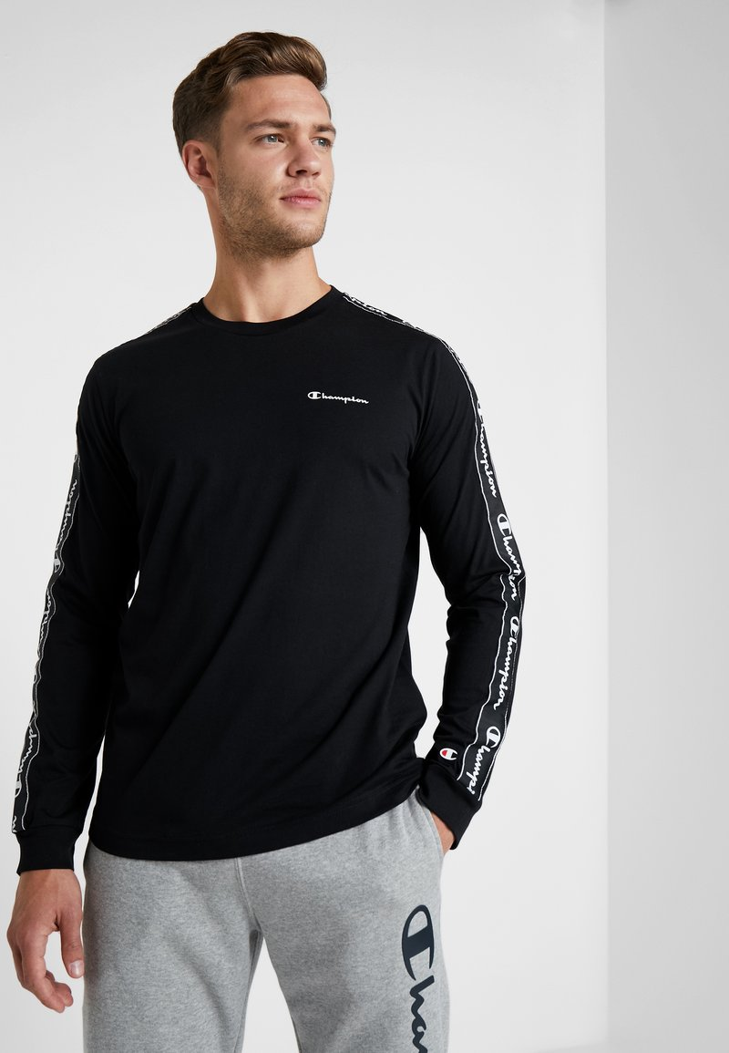 Champion - LONG SLEEVE CREWNECK  - Long sleeved top - black