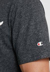 Champion - CREWNECK - T-shirt imprimé - dark grey - 5